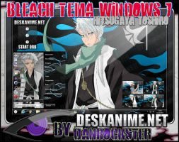 Hitsugaya Toshiro Theme Windows 7 by Danrockster