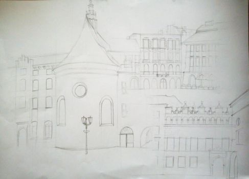 Cracow Sketches by chupacabraNH