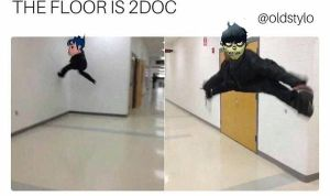 THE FLOOR IS 2DOC by francy-is-the-best