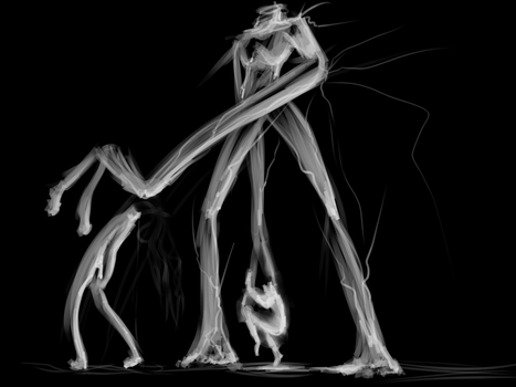 Headless - Concept Sketch by XTKandChaosX