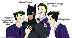 JOKER INFESTATION by Sapphiresenthiss
