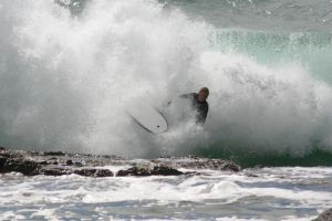 Bodyboarder by loustock