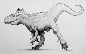 Indominus Rex  by TheGreatestLoverArt