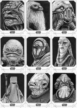 Topps Star Wars Rogue One Series 2 Sketch Cards by Geekincognito