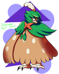 Pokecember Challenge Day 4 - Favorite Ghost by Inika-Xeathis