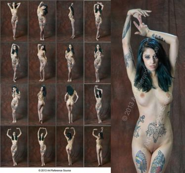 New Model Grace Creative Full Length Nudes Stock by ArtReferenceSource