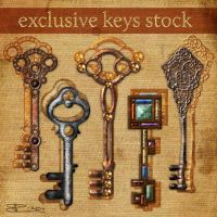 Exclusive Keys Stock by Toefje-Kunst
