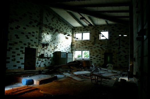 abandoned hall by Nature-of-Decay