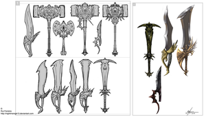 Weapons concept 001 by NightmareGK13