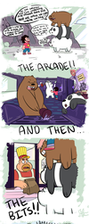 We Bare Bears and Steven Universe by OasisCommander51