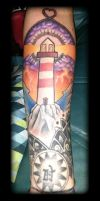Lighthouse by state-of-art-tattoo