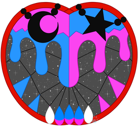 C Ida and Ada Stained Glass by Beadedwolf22