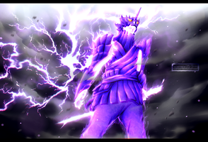 Naruto chapter 696 - Susanoo's Indra Mode by Kortrex