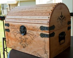 Victorian Pirate Chest - Front by CrystalKittyCat