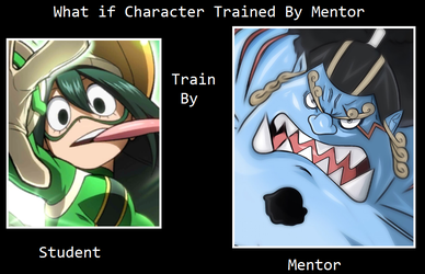 What if Tsuyu was trained by Jinbe by scott910
