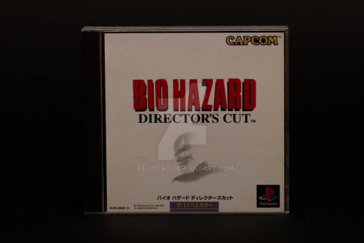 Biohazard Director's Cut PSX by Rejiclad