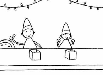 Animation:TheChristmas Factory by boum