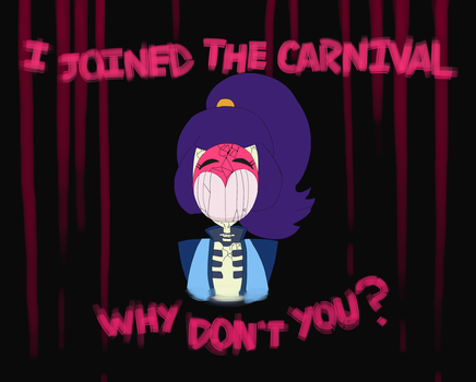 I bought a ticket to the Carnevil! by Pandatarius