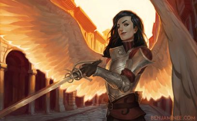 Fiora Angel by TheBoyofCheese