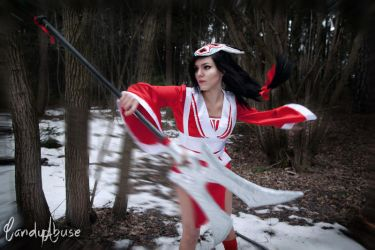 Akali Blood Moon Cosplay League of Legends 2 by CandyAbuse