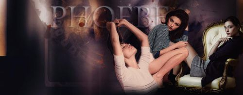 PHOEBE TONKIN FACEBOOK COVER by Am-o-uR