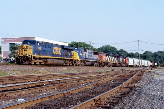 CSX 5388 on Q-410 by cr6660