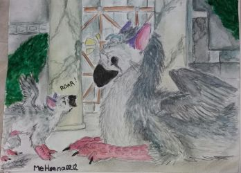 Big Trico and little Trico : by MeHyena0212