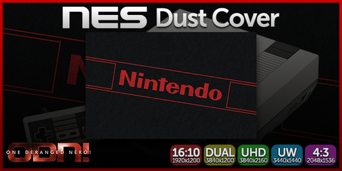 ODN Wallpaper - NES Dust Cover by KaizenNeko