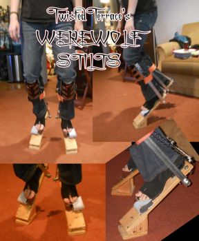 Werewolf Stilts (No Padding or Shaping) by TwistedTerrace
