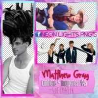 Matthew Gray - VARIADAS  -  Neon Lights PNG'S by SoffMalik