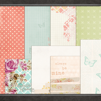 Ditsy Paper Pack by DaydreamersDesigns