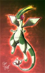 Flygon by Nadou
