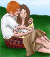 Claire and Jamie by StuckInThe90s