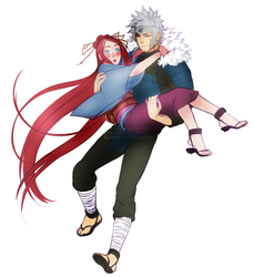 [C] Umeko and Tobirama by Eeriah