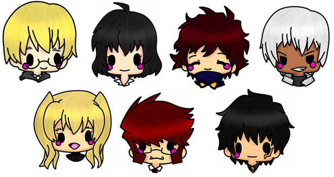 Blood Blockade Battlefront Stickers by Domenica-chan999