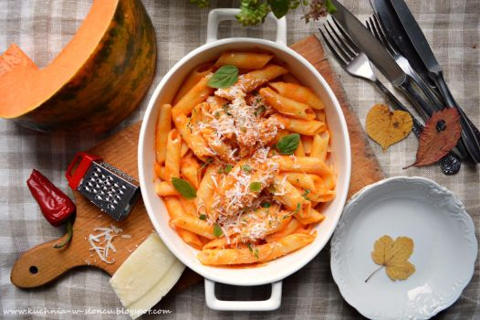 Pumpkin pasta by SunnySpring
