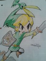Toon Link Minish cap by vocaloid02fan