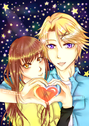 Love in the Stars | Mystic Messenger by Sapphire-Skillz