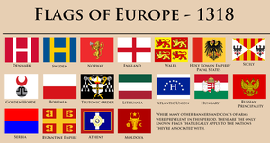 Stranded in Europe-Flags by YNot1989