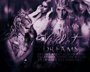 (blend) Violet Dreams by DarkWizardess