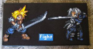 Vs Series: Cloud and Sephiroth by Dunhour