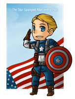 Star Spangled Chibi by ozamham