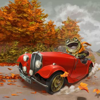 The Wind in the Willows by nikogeyer
