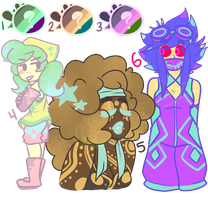 Palette Adopts [3/6 OPEN] by CharsWorld