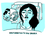 Masturbating to Don Draper by AlexandraDal