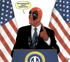 Deadpool 4 Prez by ctyler