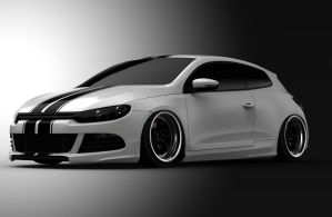 Scirocco render 3 by spittty