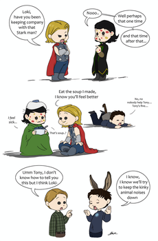 Avengers - Love is Contagious 2 by caycowa