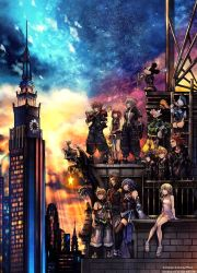 OFFICIAL Kingdom Hearts 3 Box Art by Scorpius02