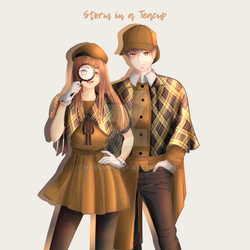 Storm In A Teacup (Webtoon) New Cover 3 by Mildemme